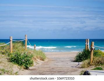 Beach el Saler landscape