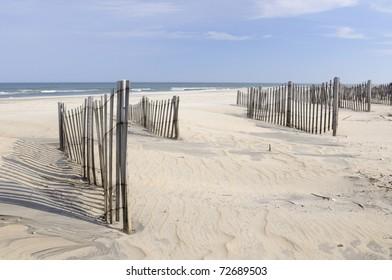 Beach Erosion Fences