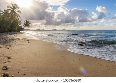 "The beach ""Fond Larion"" at Saint-Luce, Martinique, 27th of February 2018"