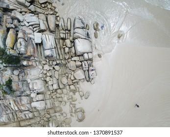 Beach Granite Rocks Australian Coast