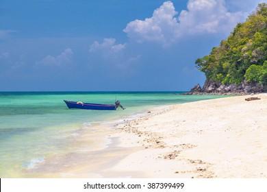Beach in the Gulf of Thailand