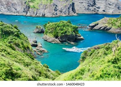 "beach of ""Hirizo"" from cape ""Aiai"" in Izu"