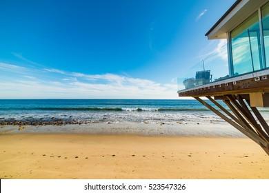 Beach house in Los Angeles, California