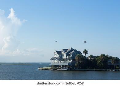 beach house on the coast