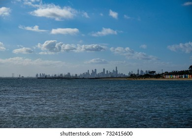 Beach Houses And The Skyline