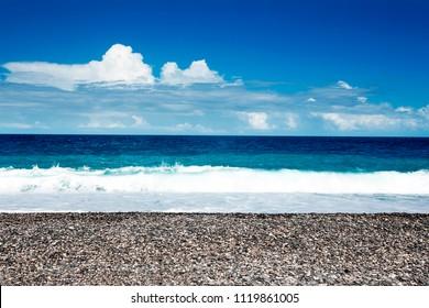 The beach Hualien Taiwan
