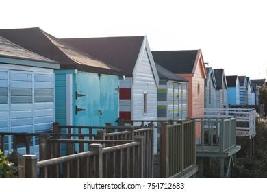 Beach huts chapel st Leonard's Skegness
