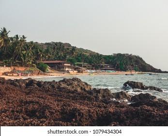 Beach Huts in Goa, India