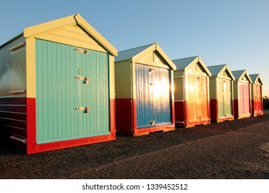 beach huts in Hove Sussex