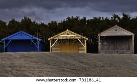 Beach Huts West Wittering Beach England Stock Photo Edit Now
