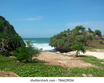 beach indonesia landscape