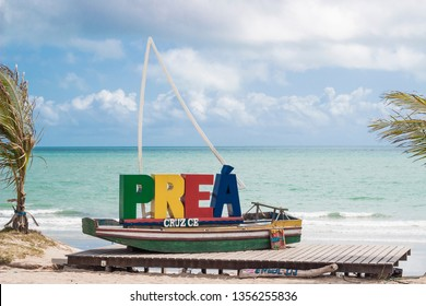 Preá Beach, Jericoacoara, Ceará, Brazil. August 06, 2018. Beach Paradise. Northeast of Brazil