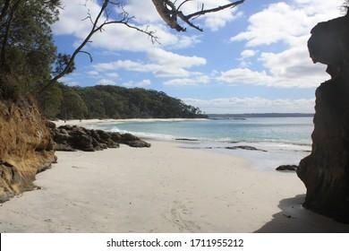 Beach , Jervis bay, NSW australia