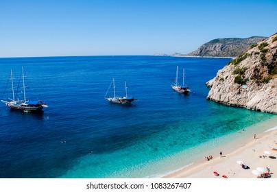 Beach Kaputas, Turkey