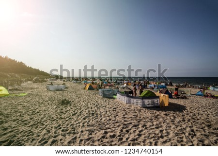 Blota beach