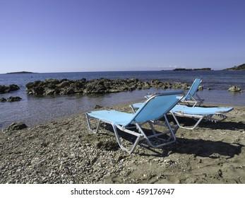beach of katakolon