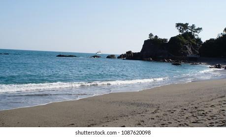 beach in Katsurahama (Kouchi)