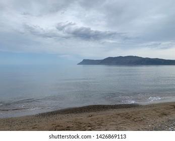 Beach in Kissamos in Greece