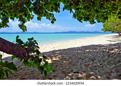 Beach at Koh Kradan in the Andaman Sea, Thailand