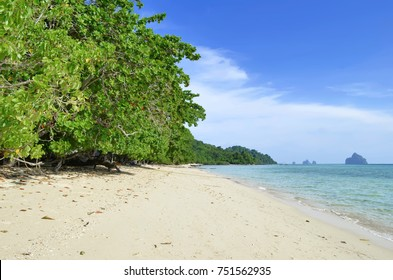 Beach at Koh Kradan in the Andaman Sea
