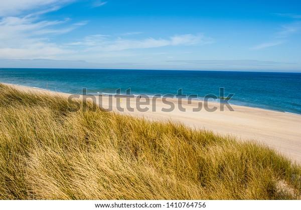 Beach Landscape Island Sylt Germany Royalty Free Stock Image