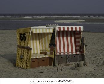 the beach of langeoog