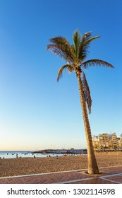 Beach in Las Palmas, Gran Canaria, Spain