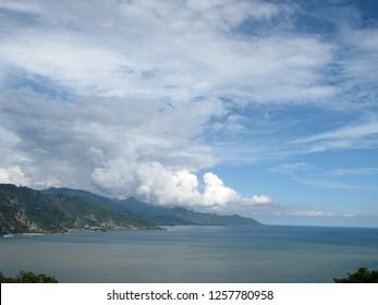 beach limboto sea gorontalo indonesia