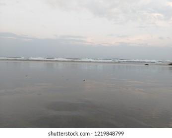 beach location in vizag