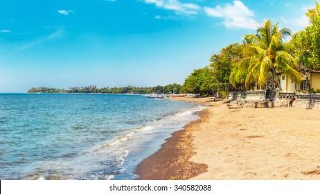 Beach at Lovina, Bali, Indonesia