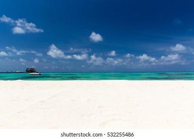 beach in Maldives