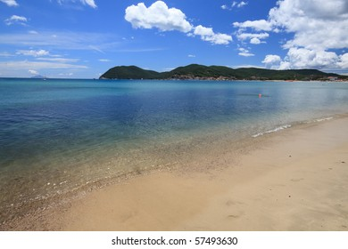 Beach of Marina di Campo - Elba Island