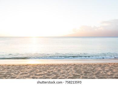 Beach in Napili Bay on Maui, Hawaii