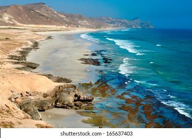 Beach near Al Mughsayl, Salalah, Oman