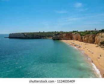 Beach near Armacao de Pera, Algarve, Portugal