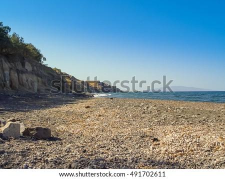 The beach beach near