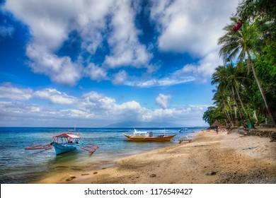 Beach Near Puerto Galera on Mindoro, Philippines