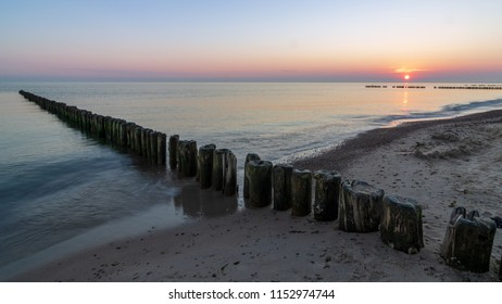 Beach near Sarbinowo, Poland