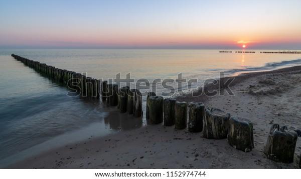 Beach near Sarbinowo, Poland