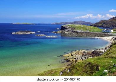 beach near Ullapool, Scotland