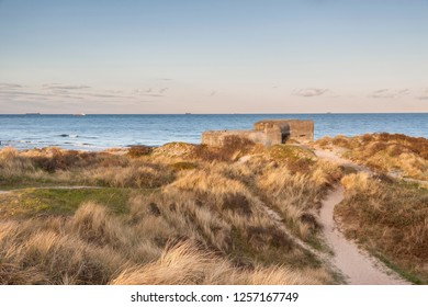 Beach next to Skagen in the northern part of Denmark.