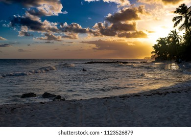 A beach north of St. Lawerence gap in Barbados