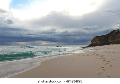 Beach number sixteen before the sunset, Rye, Mornington Peninsula, Victoria, Australia