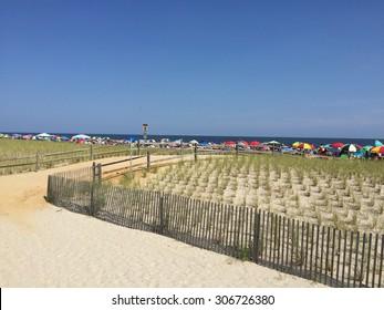 Beach in Ocean City, New Jersey
