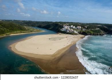 Beach of Odeceixe, Alentejo, Portugal