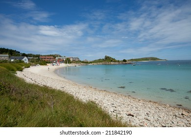 The beach at Old Grimsby, Tresco, Isles of Scilly