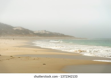 Beach on a foggy morning in Western Australia