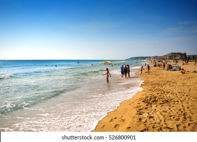 Beach on the Golden Sands, Bulgaria