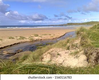 Beach on Islay in Scotland
