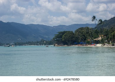 A beach on Koh Samui, Thailand